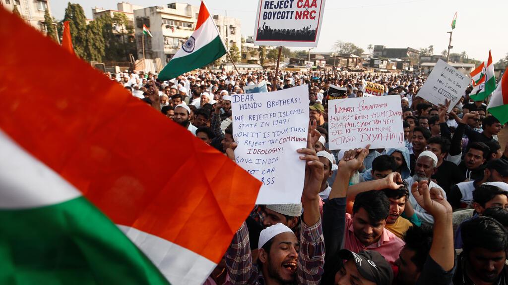 مظاهرات في الهند