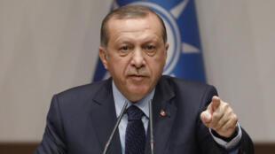الرئيس التركي طيب أردوغان