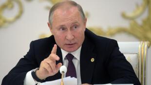 فلاديمير بوتين 21-10-2019