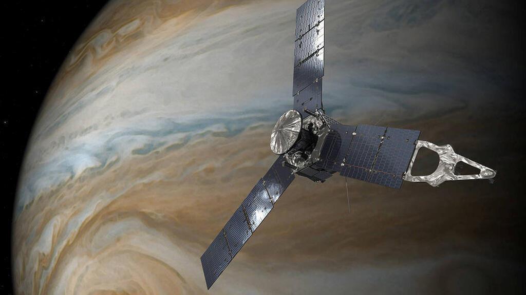 مسبار تابع لناسا فوق كوكب المشتري