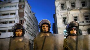 الشرطة المصرية في القاهرة