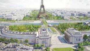 مشروع تخضير الأحياء القريبة من برج ايفل