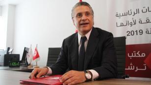 نبيل القروي يقدم ملف ترشحه إلى اللجنة الانتخابية التونسية يوم 2 أغسطس 2019