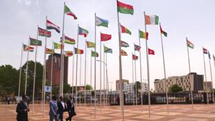 خلال قمة الاتحاد الأفريقي في النيجر عام 2019