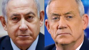 Netanyahu-Benny-Gantz