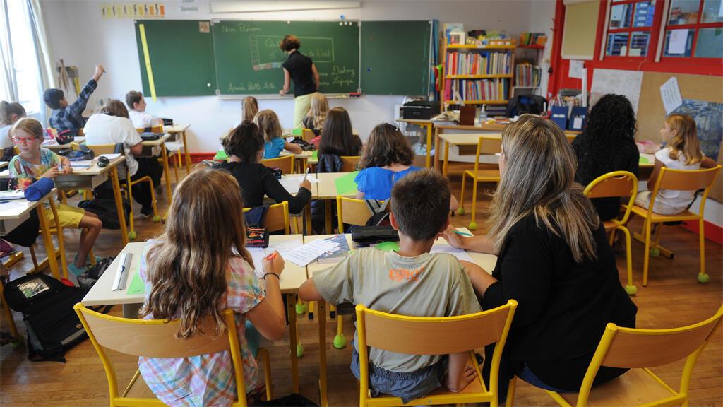 صورة تعبيرية لتلاميذ في المدرسة