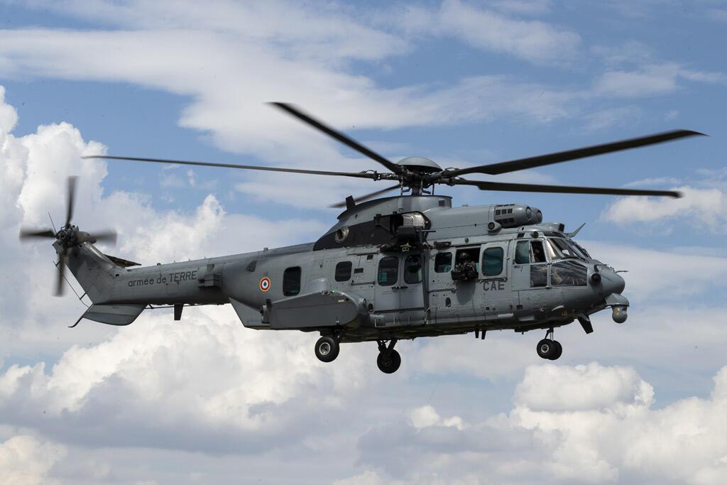 مروحية كاراكال تابعة للقوات الجوية الفرنسية