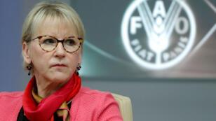 مارغوت فالستروم وزيرة خارجية السويد
