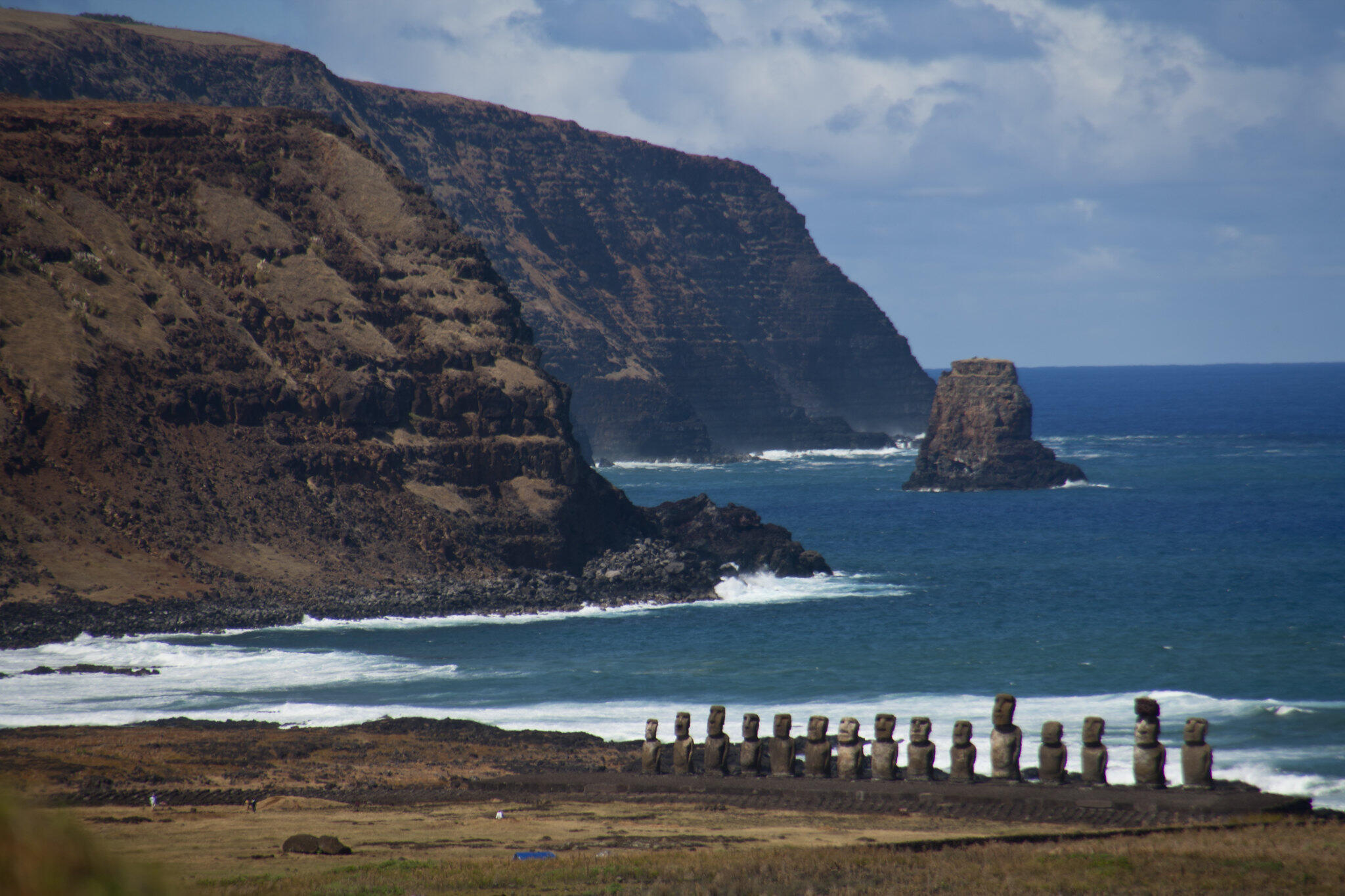 statue easter island