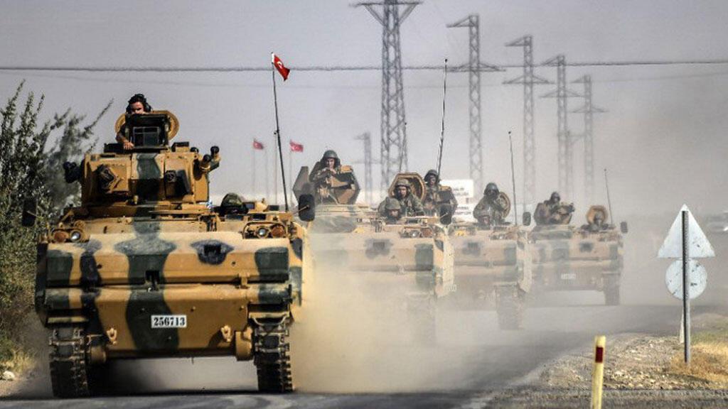 """الجيش التركي في إطار عملية """"درع الفرات"""""""
