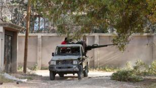 أفراد من القوات الحكومية الليبية-