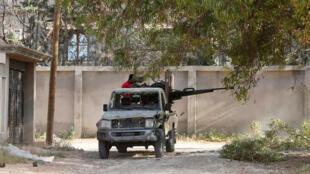 أفراد من القوات الحكومية الليبية-الصورة من رويترز