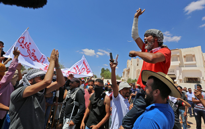 tunisie manifs au sud