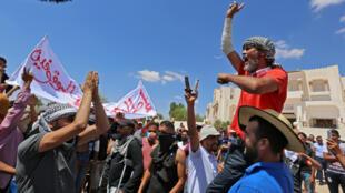 مظاهرات احتجاجية في جنوب تونس