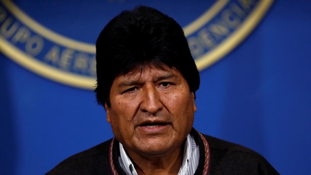الرئيس البوليفي ايفو موراليس-