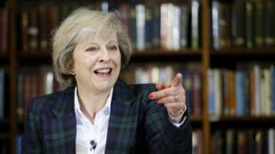 الحكومة البريطانية تيريزا ماي