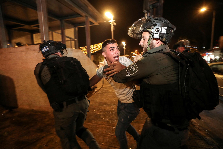 iISRAEL-PALESTINIANS-PROTESTS