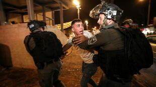 iISRAEL-PALESTINIANS-PROTESTS