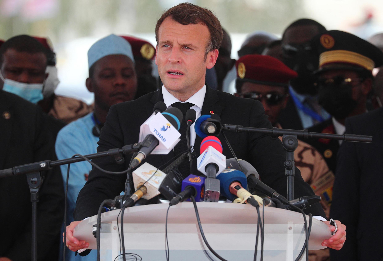 Macron N'Djamina 23 04 2021