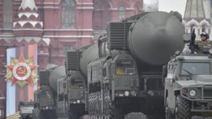 عرض عسكري في موسكو