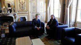 لقاء بين الحريري وماكرون في فرنسا