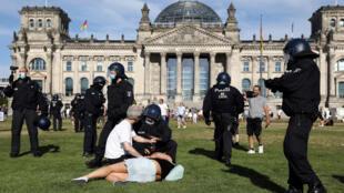 مواجهات مع الشرطة في ألمانيا