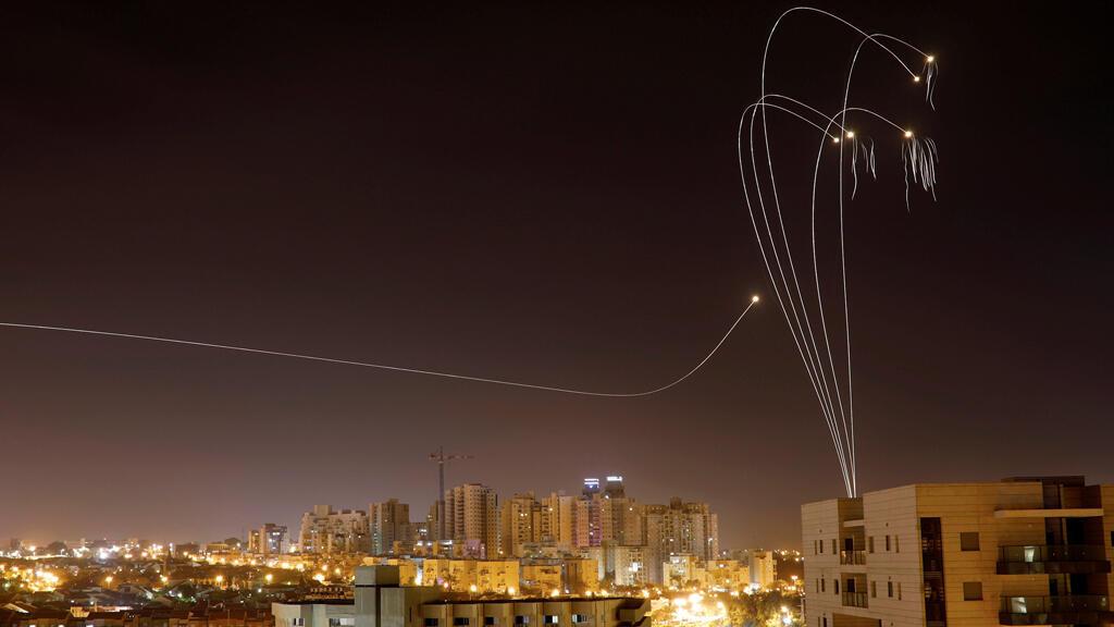 مضادات إسرائيلية للصواريخ فوق سماء غزة