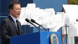 رئيس كوريا الجنوبية مون جيه-إن