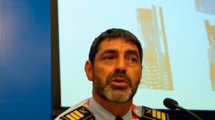 جوزيب لويس ترابيرو قائد شرطة إقليم كاتالونيا المُقال
