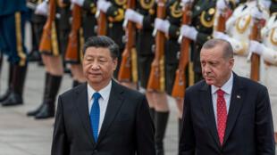 خلال لقاء الرئيس بنظيره الصيني في بكين
