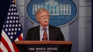مستشار الرئيس الأميركي للأمن القومي جون بولتون