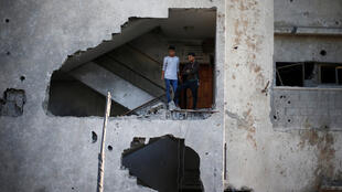 الدمار في قطاع غزة