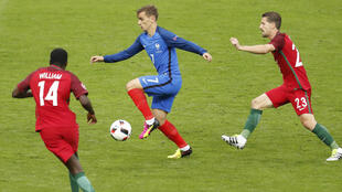 مباراة نهائية سابقة لمنتخب البرتغال ضد المنتخب الفرنسي