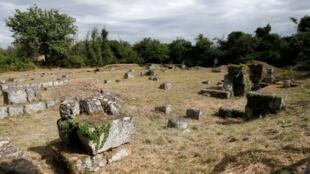 بقايا المدينة الرومانية القديمة في فاليري نوفي  المدفونة في الغالب تحت الأرض ، بعد أن أعلن الباحثون أنهم تمكنوا من رسم خريطة للمدينة بأكملها باستخدام تقنية الرادار المخترقة للأرض (GPR) ، بالقرب من روما ، إيطاليا ، 9 يونيو 2020