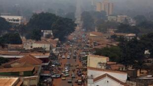 بانغي، عاصمة جمهورية أفريقيا الوسطى (16 فبراير 2016)