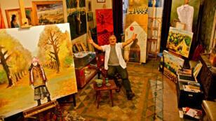 الفنان التشكيلي الأردني سلام كنعان