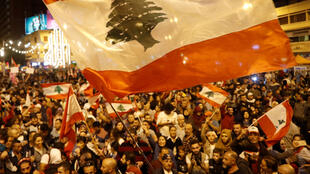 احتجاجات لبنان-