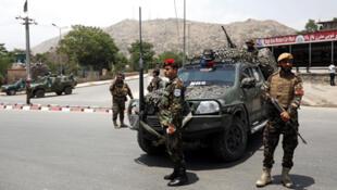 /عناصر من القوات الأفغانية