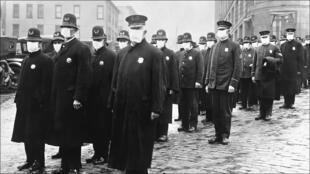 في مدينة سياتل الأمريكية عام 1918