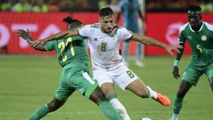 لقطة من نهائي كأس الأمم الإفريقية بين الجزائر والسنغال