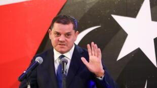رئيس حكومة الوحدة الوطنية في ليبيا، عبد الحميد دبيبة