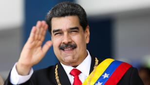الرئيس الفنزويلي نيكولاس مادورو-