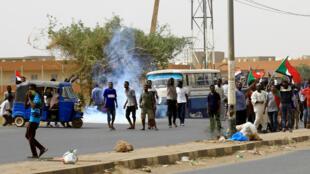 من مظاهرات يوم الأحد في السودان