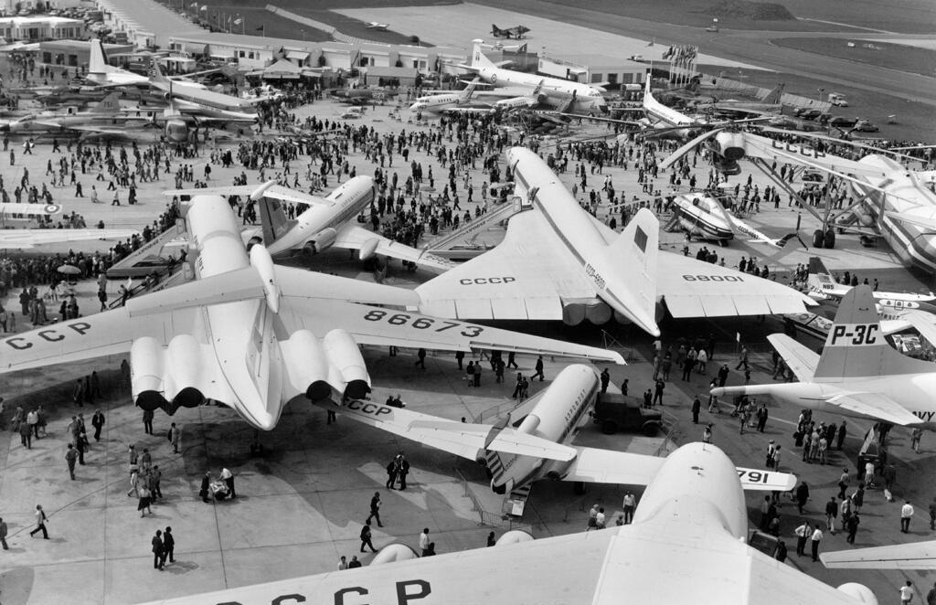 معرض باريس الدولي للطيران عام 1971