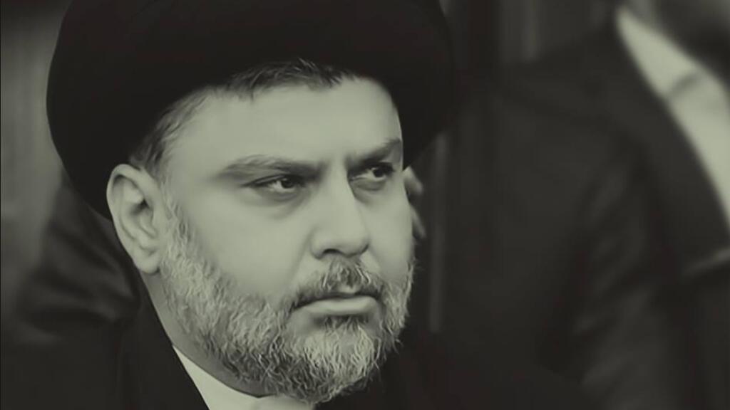 الزعيم السياسي الشيعي مقتدى الصدر -