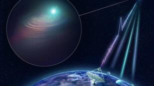 """اكتشاف موجات راديو كونية جديدة يمكن أن يساعد في رسم خريطة للفضاء الخارجي"""""""