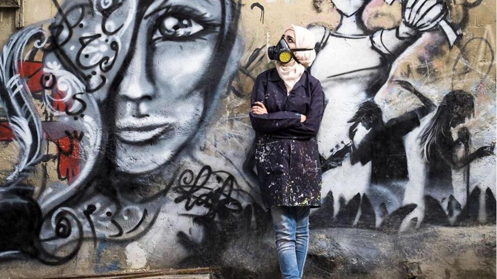 layla_ajwi_palestinian_graffiti_artist