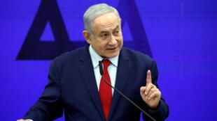 رئيس الوزراء الإسرئيلي بينيامين نتانياهو