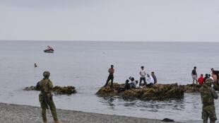 migrants_ceuta_spain
