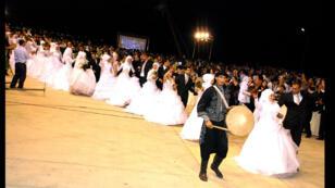 فل زفاف جماعي من اللاجئين الفلسطينيين في لبنان